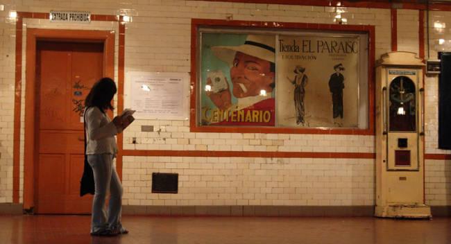 La misteriosa Línea A del subte de Buenos Aires