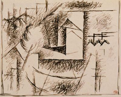 Paisaje de Céret, de Pablo Picasso.
